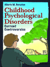 Childhood Psychological Disorders