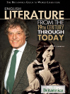 English Literature from the 19th Century Through Today (eBook)