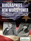 Biographies of the New World Power (eBook): Rutherford B. Hayes, Thomas Alva Edison, Margaret Sanger, and More