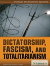 Dictatorship, Fascism, and Totalitarianism (eBook)