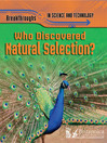 Who Discovered Natural Selection? (eBook)