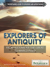 Explorers of Antiquity (eBook): From Alexander the Great to Marco Polo