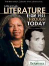 American Literature from 1945 Through Today (eBook)