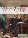 The 100 Most Influential Writers of All Time (eBook)