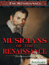 Musicians of the Renaissance (eBook)
