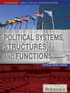 Political Systems, Structures, and Functions (eBook)
