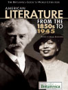 American Literature from the 1850s to 1945 (eBook)