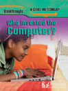 Who Invented the Computer? (eBook)