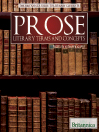 Prose (eBook): Literary Terms and Concepts