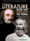 American Literature from 1600 Through the 1850s (eBook)