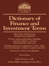 Dictionary of Finance and Investment Terms (eBook)
