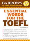 Essential Words for the TOEFL (eBook)