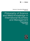 Philosophy of Science and Meta-Knowledge in International Business and Management (eBook)