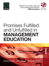 Promises Fulfilled and Unfulfilled in Management Education (eBook)