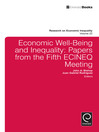 Economic Well-Being and Inequality (eBook): Papers from the Fifth ECINEQ Meeting