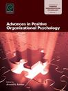Advances in Positive Organizational Psychology (eBook)