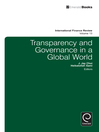 Transparency and Governance in a Global World (eBook)