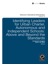 Identifying Leaders for Urban Charter, Autonomous and Independent Schools (eBook): Above and Beyond the Standards
