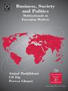 Business, Society and Politics (eBook): Multinationals in Emerging Markets