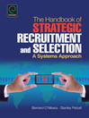 The Handbook of Strategic Recruitment and Selection (eBook): A Systems Approach