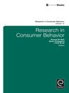 Research in Consumer Behavior (eBook)