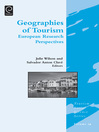 Geographies of Tourism (eBook): European Research Perspectives