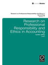Research on Professional Responsibility in Ethics and Accounting (eBook)