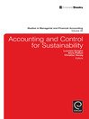 Accounting and Control for Sustainability (eBook)