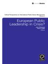 European Public Leadership in Crisis? (eBook)