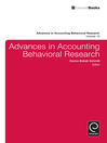 Advances in Accounting Behavioral Research (eBook)