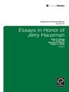 Essays in Honor of Jerry Hausman (eBook)