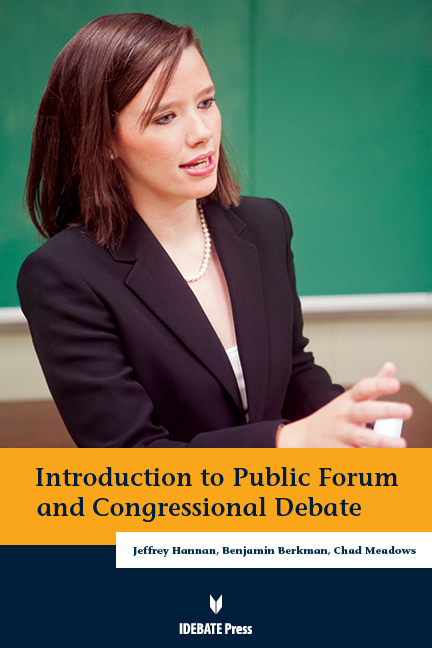 Introduction to Public Forum and Congressional Debate eBook