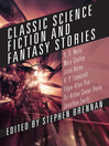 Classic Science Fiction and Fantasy Stories (eBook)