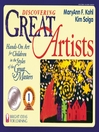Discovering Great Artists (eBook): Hands-On Art for Children in the Styles of the Great Masters