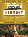 Frommer's EasyGuide to Germany (eBook)