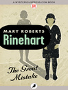 The Great Mistake (eBook)