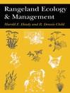 Rangeland Ecology And Management (eBook)