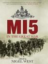 MI5 in the Great War (eBook)