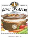 Slow Cooking Cookbook (eBook): Gooseberry Patch Series, Book 10