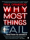 Why Most Things Fail (eBook): ...And How to Avoid It