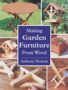 Making Garden Furniture from Wood (eBook)