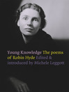 Young Knowledge (eBook): The Poems of Robin Hyde