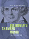 Beethoven's Chamber Music in Context (eBook)