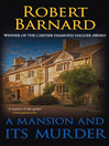 A Mansion and its Murder eBook