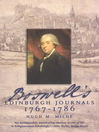 Boswell's Edinburgh Journals (eBook): 1767-1786