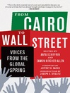 From Cairo to Wall Street (eBook): Voices from the Global Spring