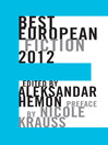 Best European Fiction 2012 (eBook)