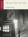 The Last Time I Saw Paris (eBook)