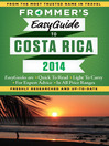 Frommer's EasyGuide to Costa Rica 2014 (eBook)