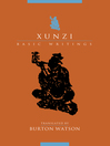 Xunzi (eBook): Basic Writings